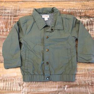 Lined bomber jacket